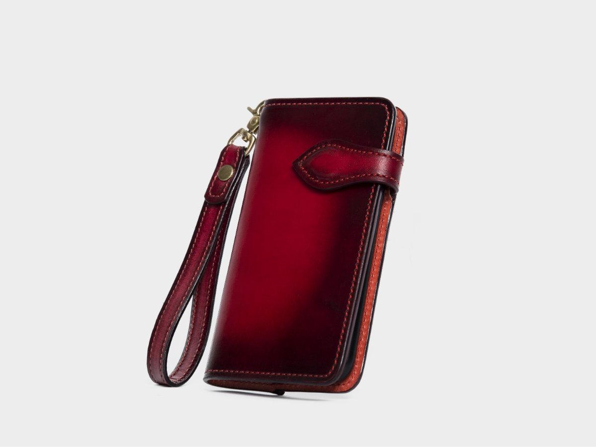 8f72c96d46 【GXD - Future - iphoneケース / 受注生産・本革 / フルレザー】